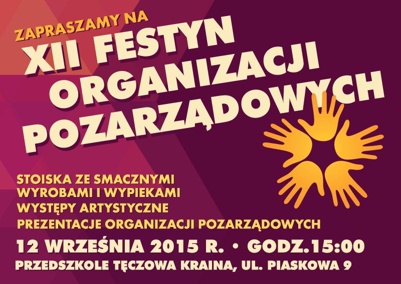 XII Festyn Organizacji Pozarządowych
