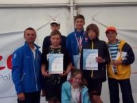 Złoto w Mistrzostwach Polski dla żeglarza z UKS Barnim Goleniów
