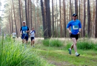 Leśny maraton i grzybobranie